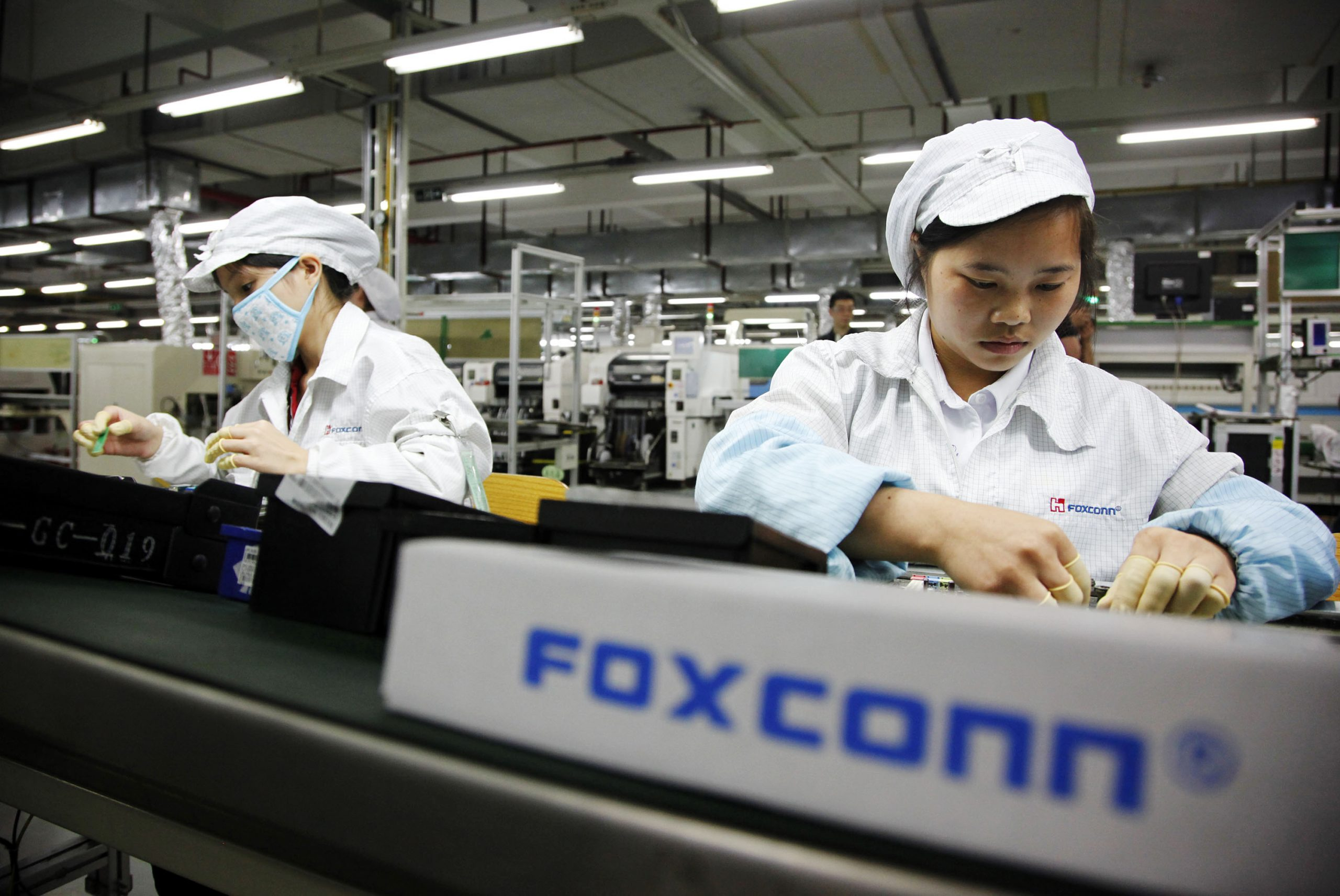 Apple iPhone maker Foxconn is an example of OEM manufacturing type