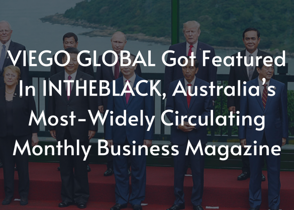 VIEGO GLOBAL GOT FEATURED IN INTHEBLACK, AUSTRALIA'S MOST-WIDELY CIRCULATING MONTHLY BUSINESS MAGAZINE